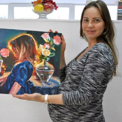 рисование для беременных